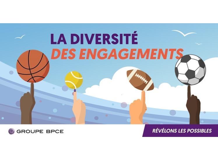 Illustration de la diversité et des engagements au sein du groupe BPCE et de la Banque Populaire Auvergne Rhône Alpes