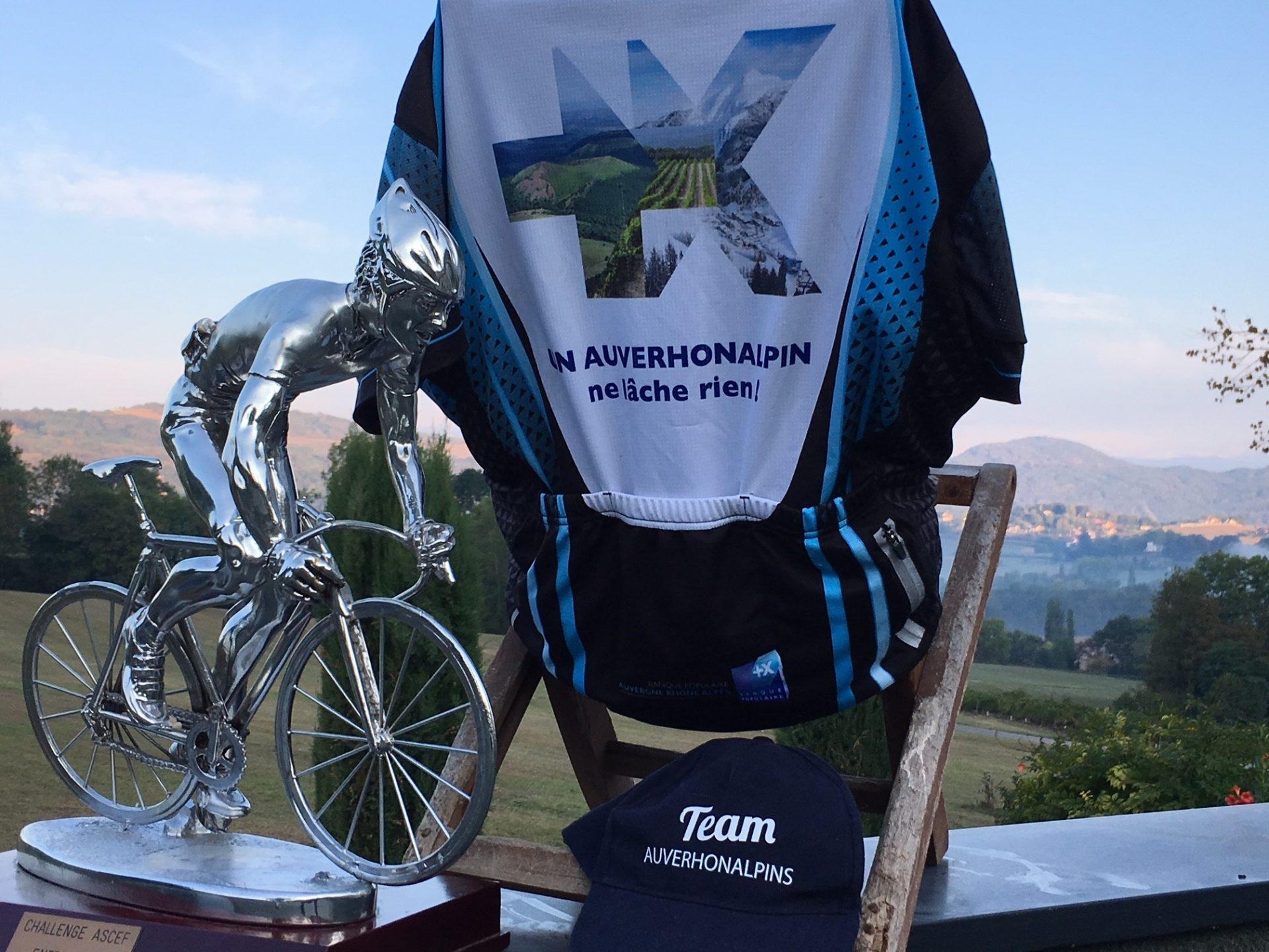 Trophée de AURA Sports remporté par la Banque Populaire Auvergne Rhône Alpes