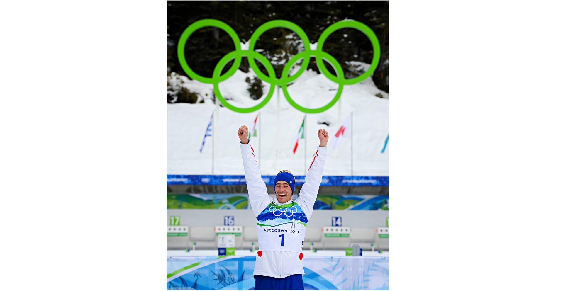 Vincent JAY, champion biathlon